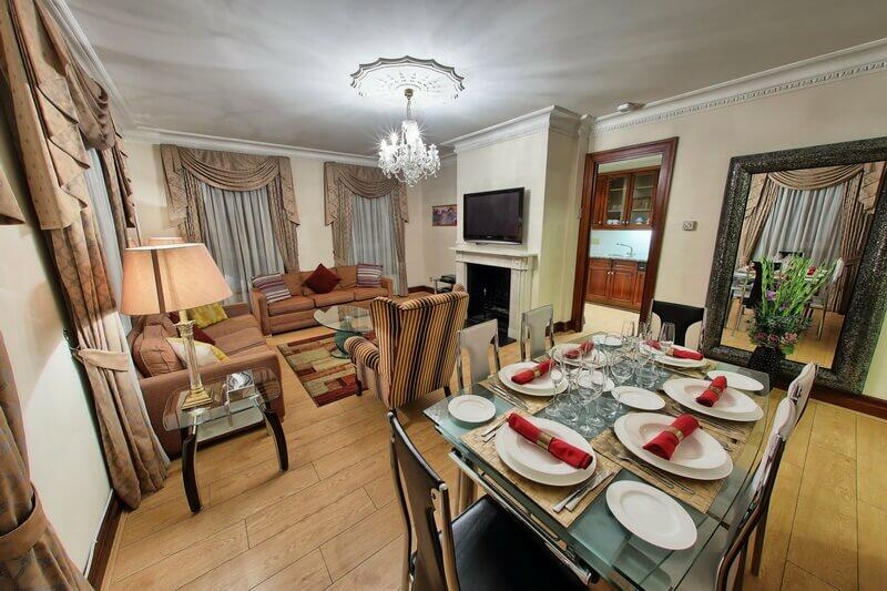 serviced apartments in London